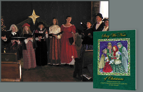 Sing Christmas Carols - chorus